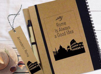מחברת מסע מעוצבת אישית, יומן מסע - רומא