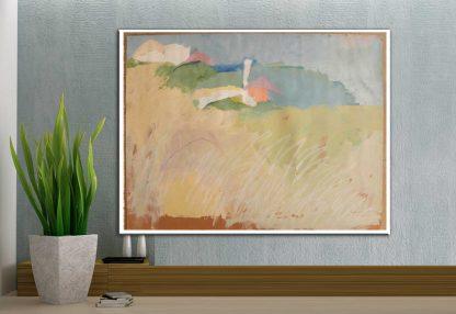 ״נוף ההר״ - תמונת אמנות מקורית מודפסת על קנבס