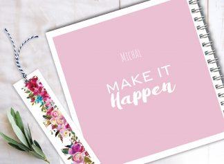 מחברת השראה אישית, Make it happen