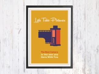 Let's Take Picture - תמונת רטרו, להדפסה עצמית