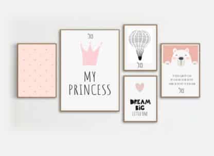 סט ציורי ילדים, הנסיכה