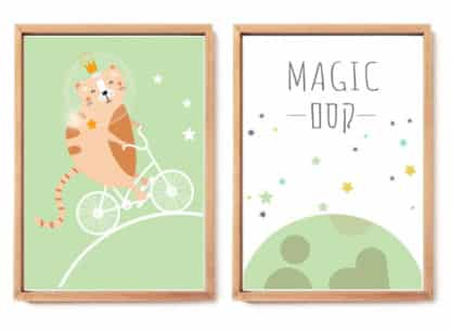 קסם, תמונות לחדר ילדים