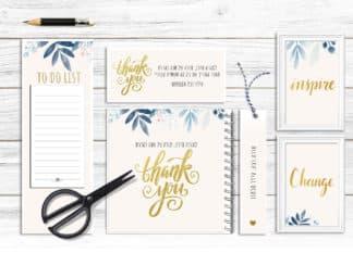 מארז מוצרי נייר, מתנה למורה לסוף שנה