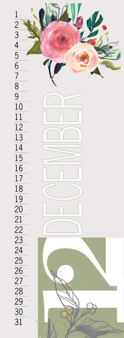 לוח שנה אישי, לוח עד דגם ג׳מבו